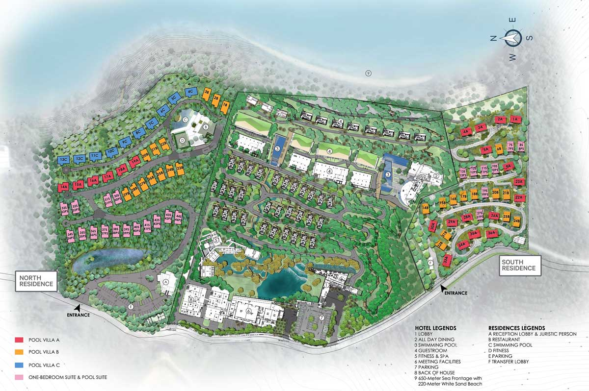 Phuket Grand Bay Residences Master Plan