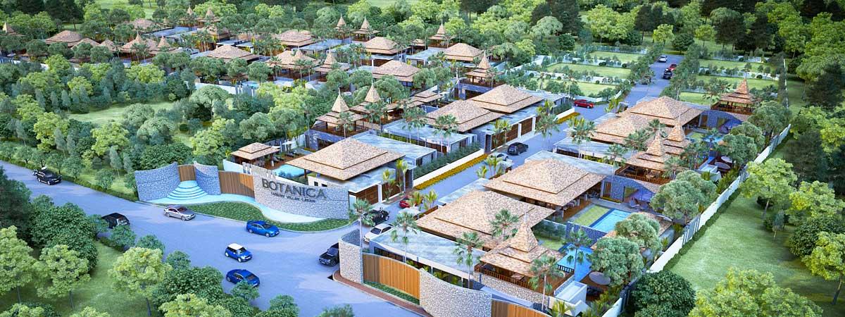 Botanica villas Master Plan