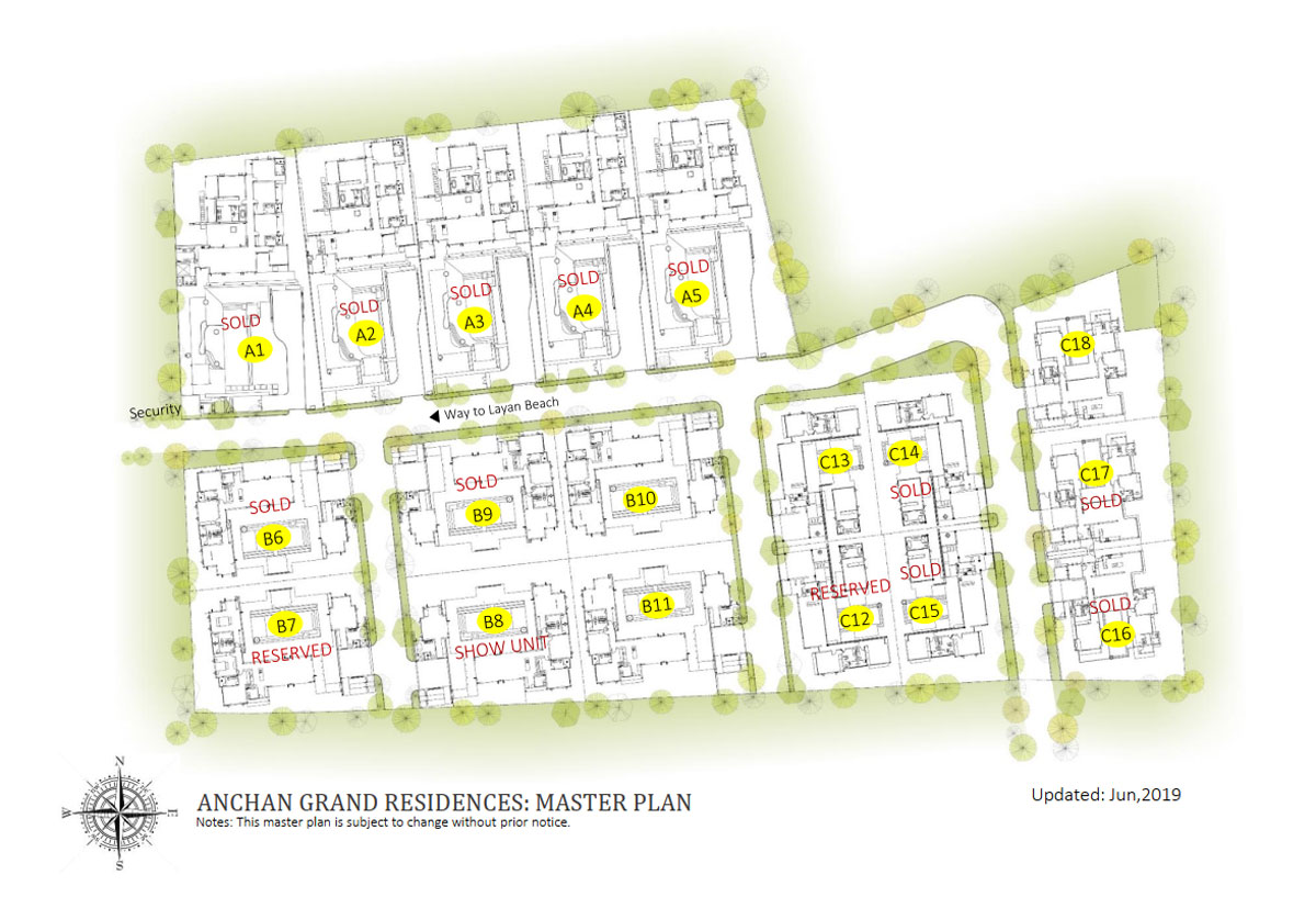 Anchan Villas Grand Residences Master Plan