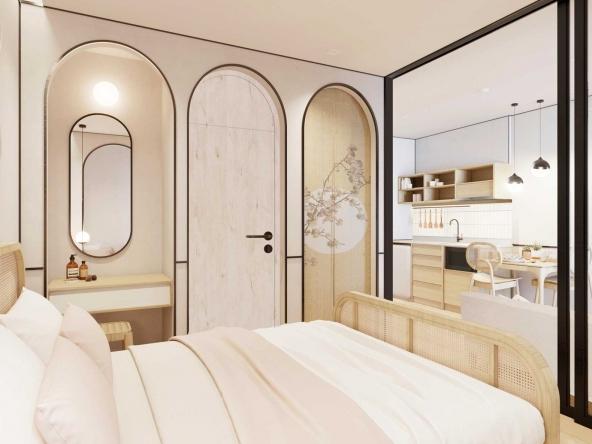 Mono Residence Floor Plan Type 2 bedrooms