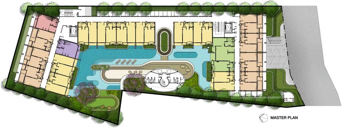 Mono Residence Master plan