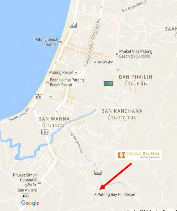 Patong-Bay Hill Location