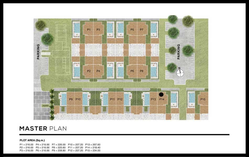 MONO Luxury Villa Pasak Master Plan