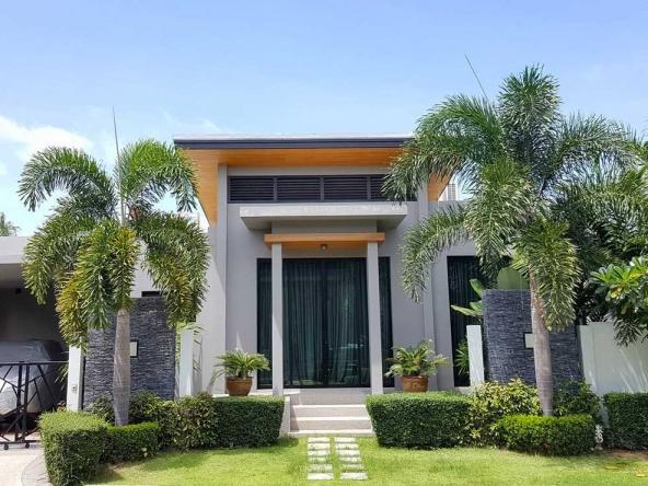 modern zen villa
