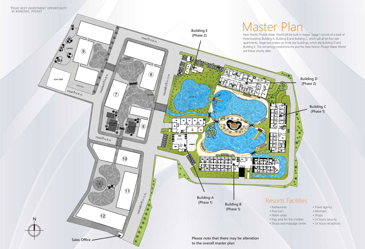 Phuket Water World Master Plan