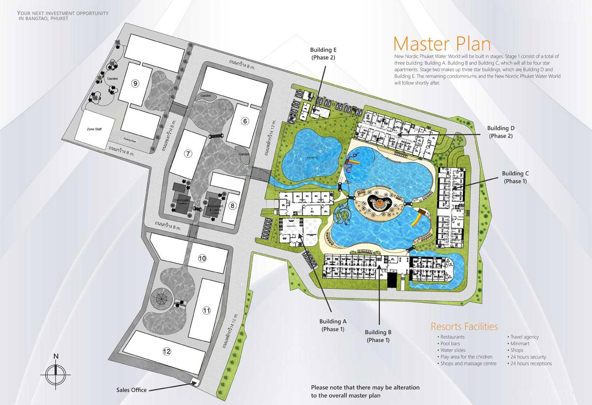 Phuket Water World Master Plan