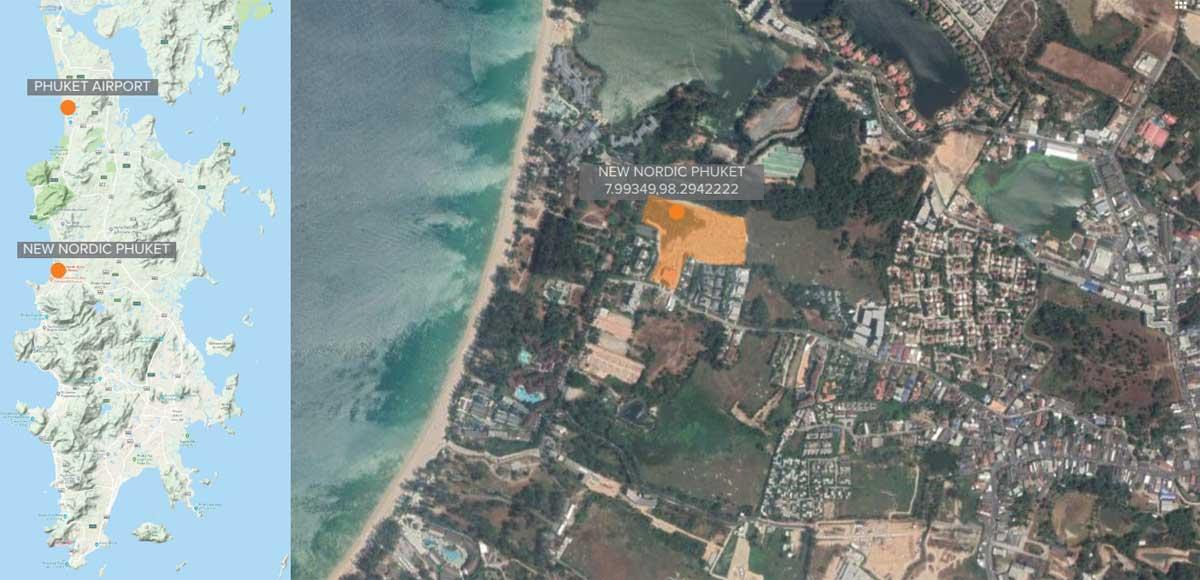 Phuket Water World Location