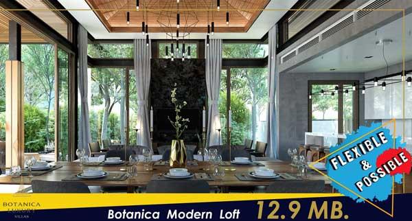 Botanica villas Modern Loft promotion