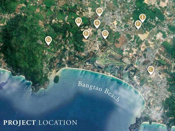 Botanica villas projects map